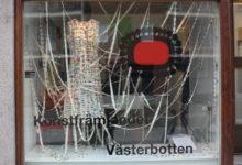 Konstfrämjandet Västerbotten, Skyltinstallation